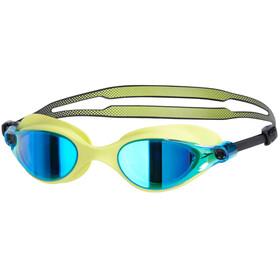 speedo Vue Mirror Goggles lime punch/blue